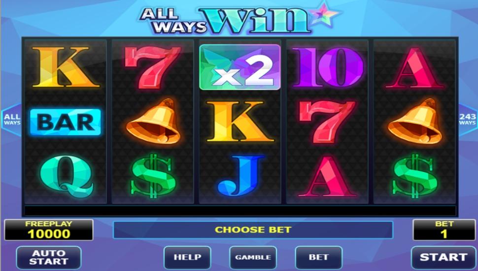 All Ways Win - Slot