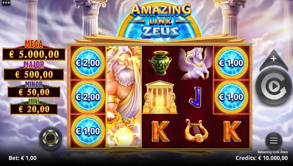 Amazing Link Zeus - Slot