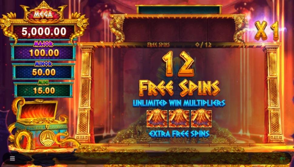 Ancient Fortunes Poseidon Megaways - Bonus Features 2