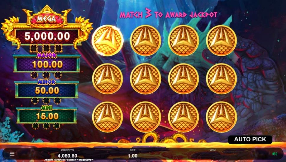 Ancient Fortunes Poseidon Megaways - Bonus Features 3