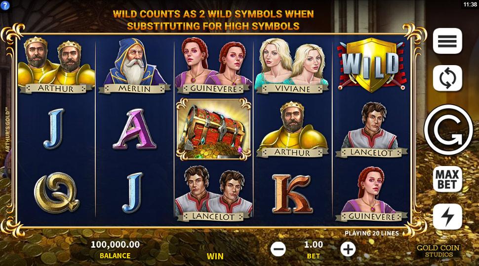 arthur's gold - Slot