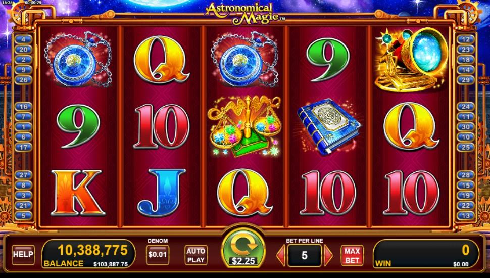 Astronomical Magic - Slot