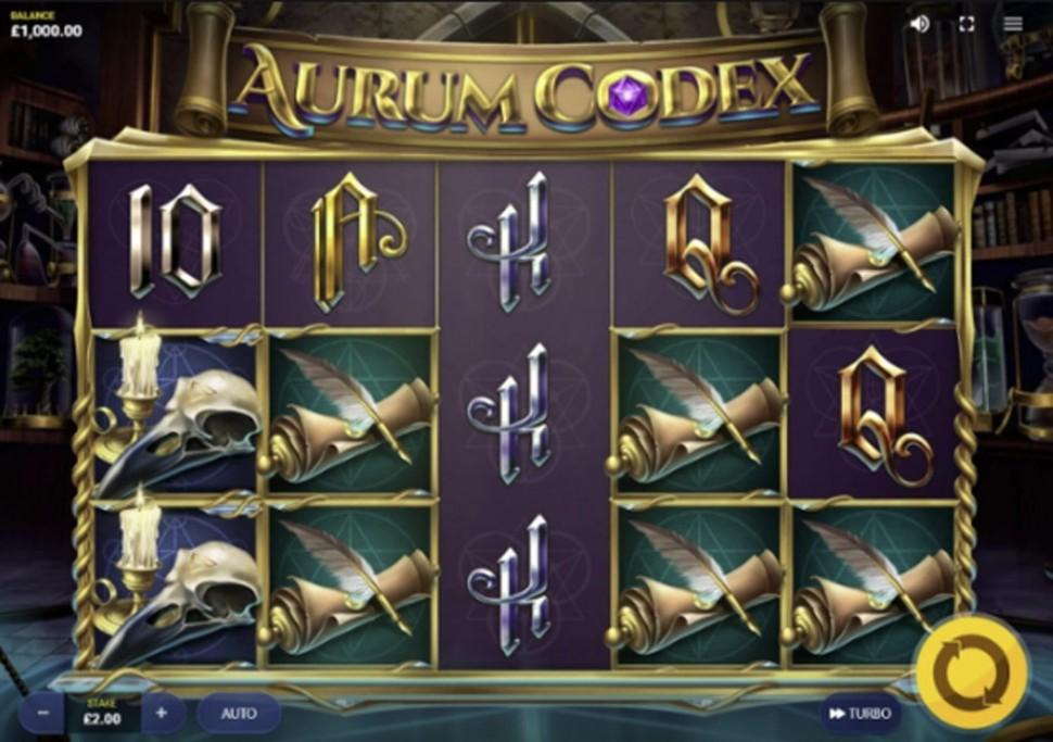 Aurum Codex - slot