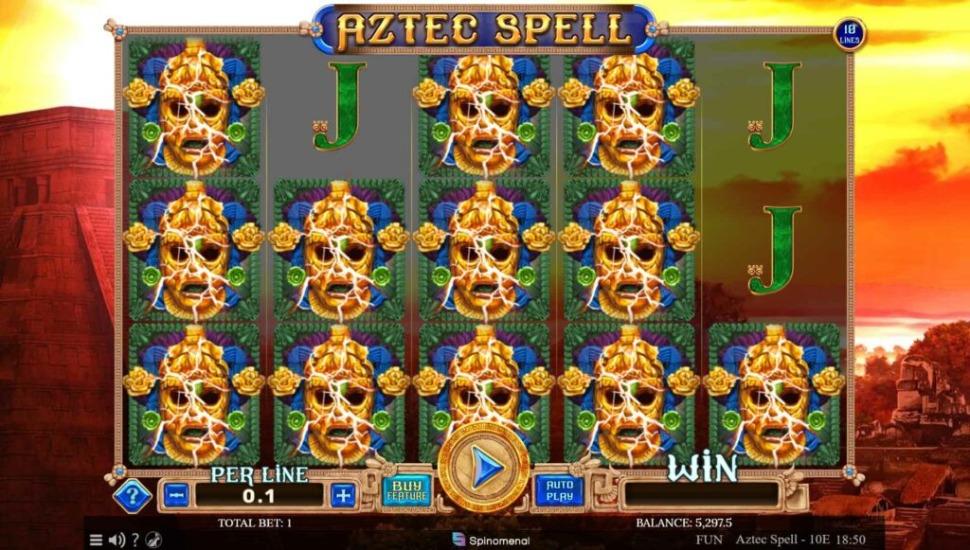 Aztec Spell 10 lines - Bonus Features