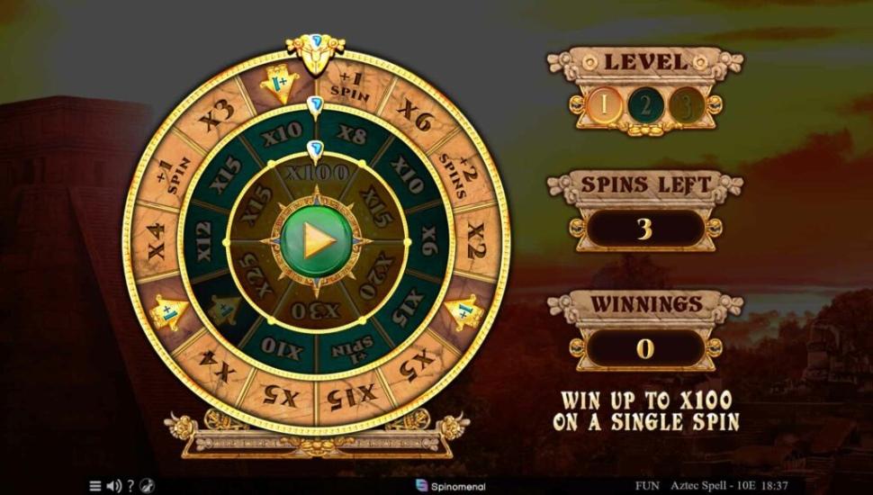 Aztec Spell 10 lines - Bonus Features2