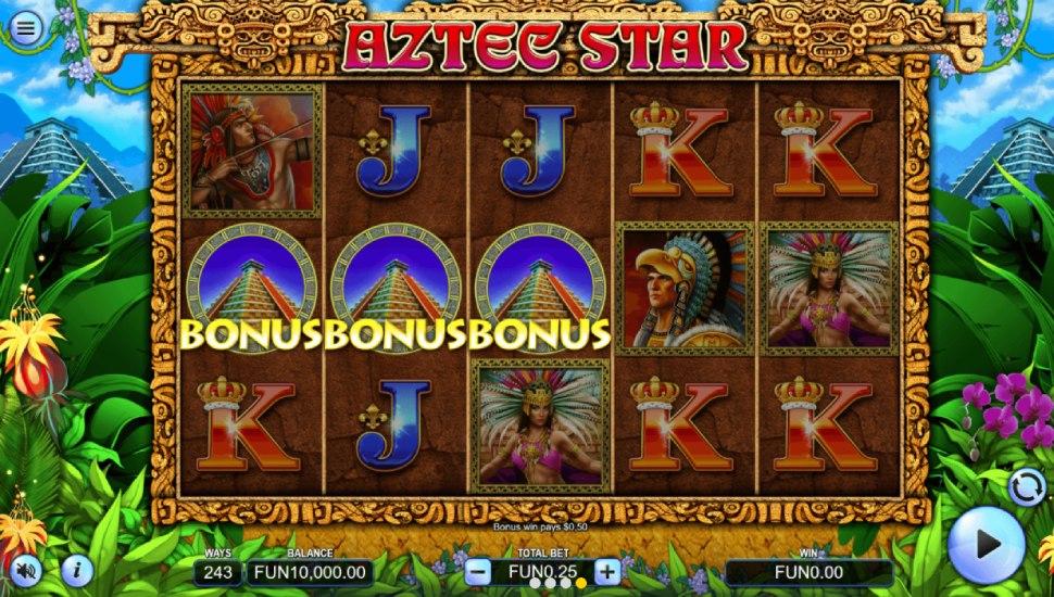 Aztec Star - Bonus Features