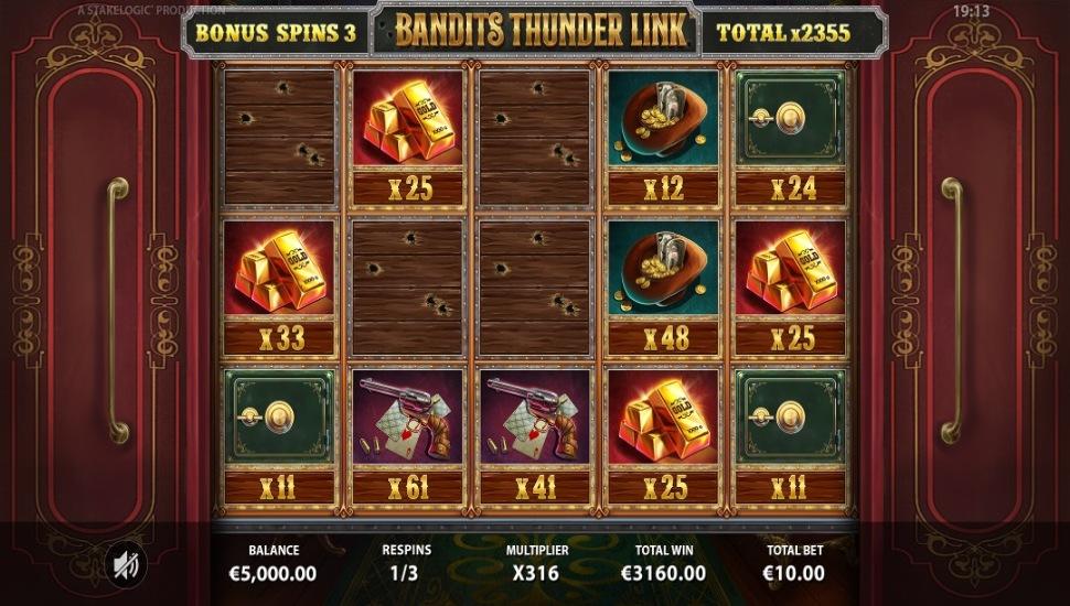 Bandits Thunder Link - Bonus Features