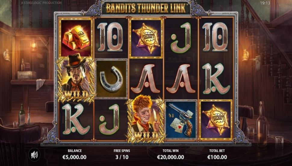 Bandits Thunder Link - Slot