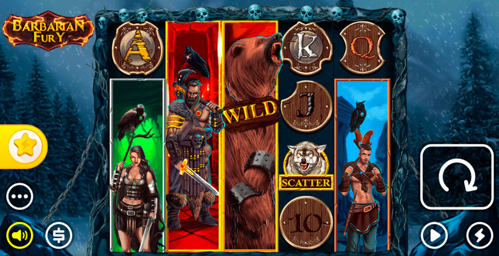 Barbarian Fury Online Slot