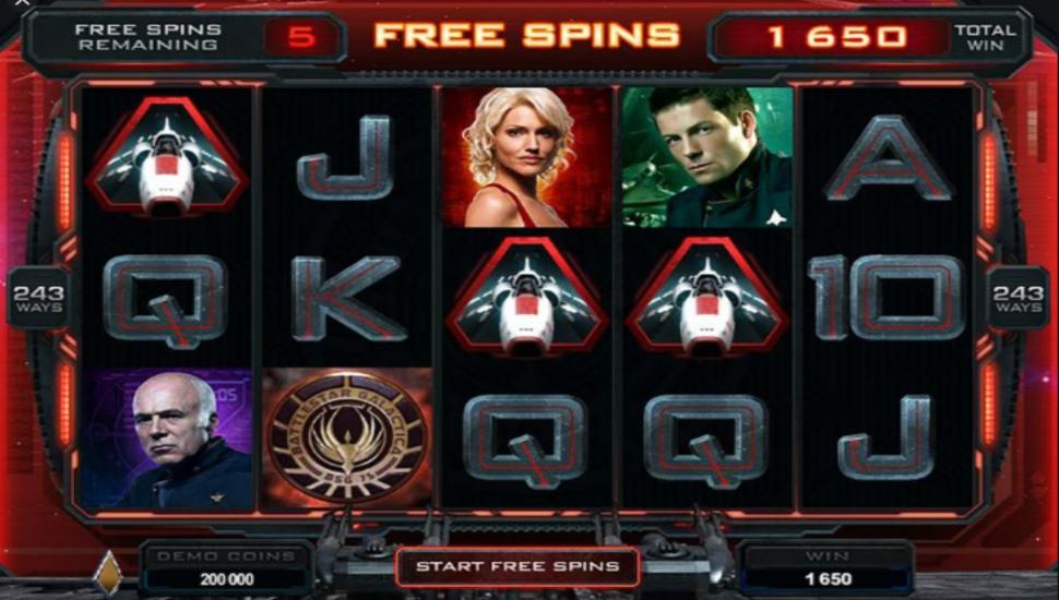 Battlestar Galactica - Slot
