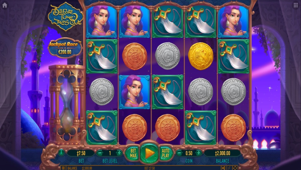 Before Time Runs Out - Slot