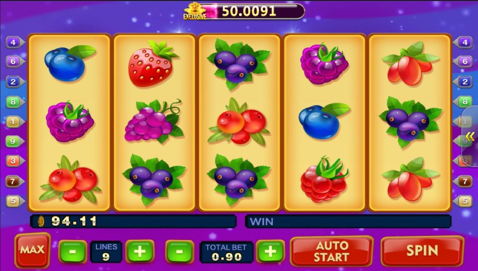 Berry berry bonanza - Slot