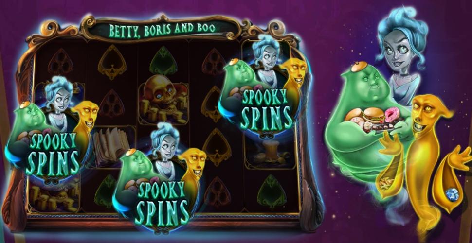 Betty, Boris and Boo - Bonus Features