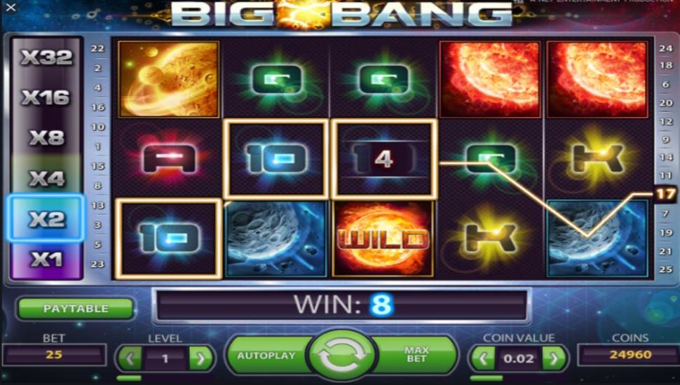 Big bang - Slot