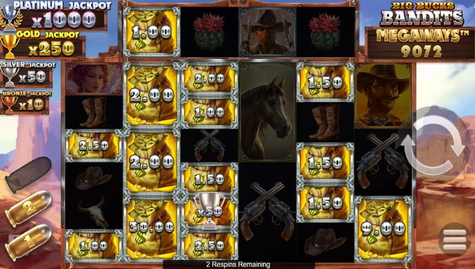 Big Bucks Bandits Megaways - Bonus Features