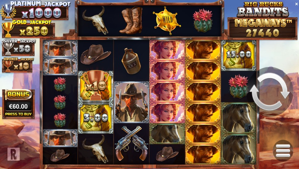 Big Bucks Bandits Megaways - Slot
