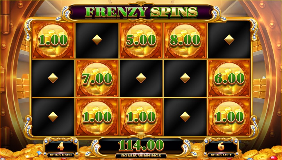 Big Money Frenzy - Bonus Features