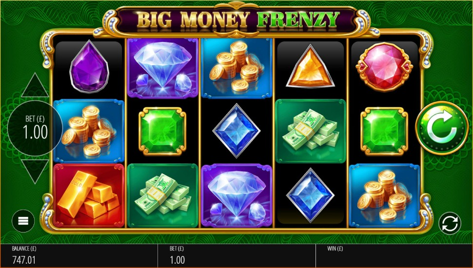 Big Money Frenzy - Slot