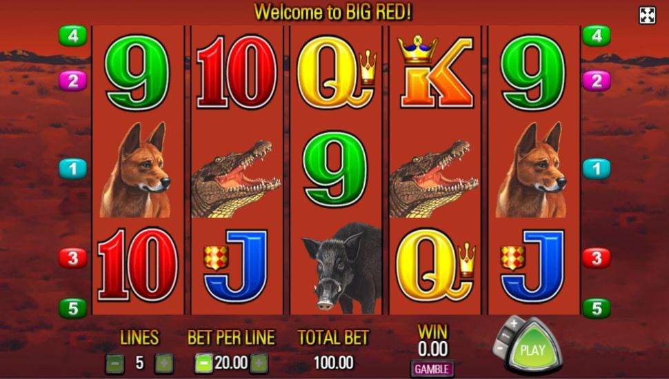 Big Red - Slot