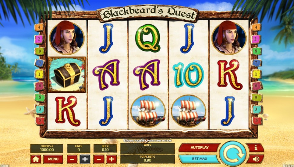 Blackbeard's Quest - Slot