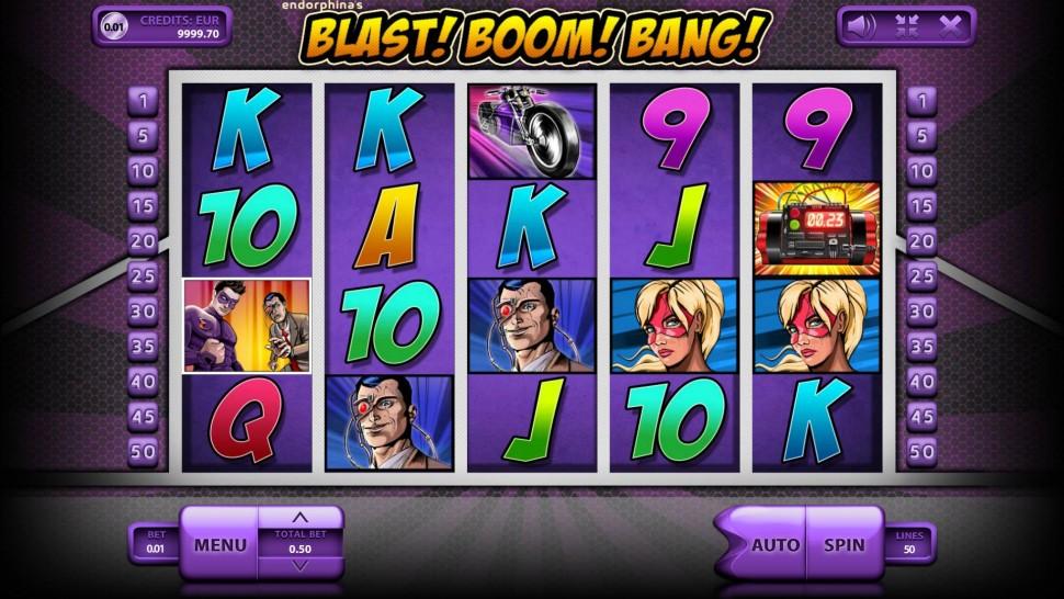 Blast Boom Bang - Slot