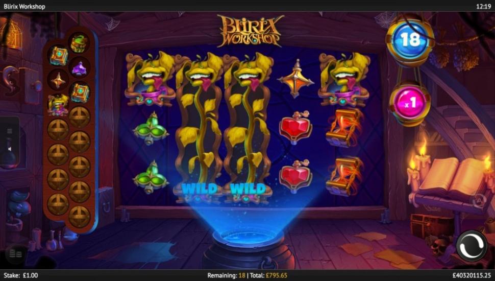 Blirix workshop -Bonus Features