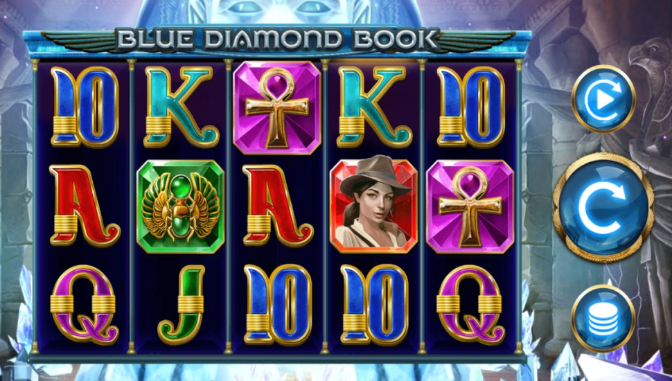 Blue Diamond Book - Slot