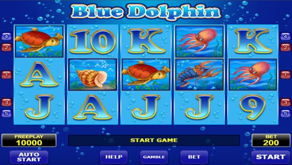 Blue Dolphin - Slot