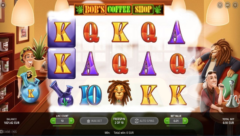 Bob's Coffee Shop - Slot