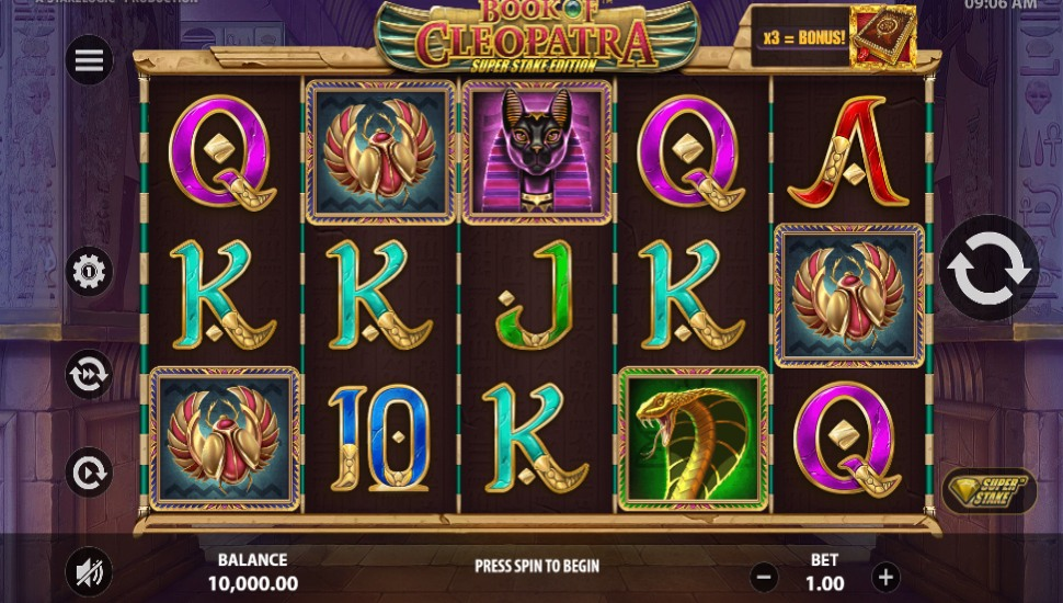Book of Cleopatra Super Stake Edition -Slot