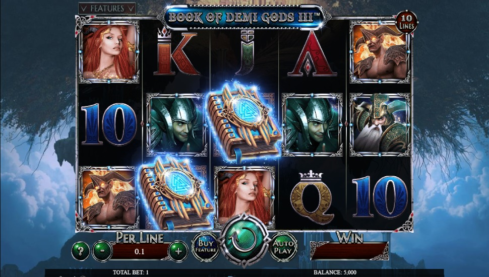 Book of Demi Gods III Slot by Spinomenal