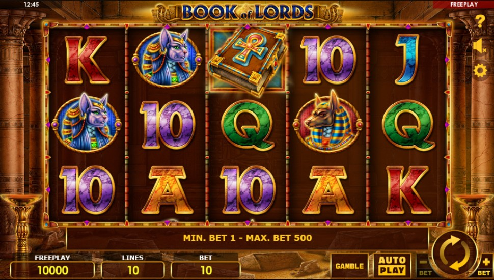 Book of Lords - Slot