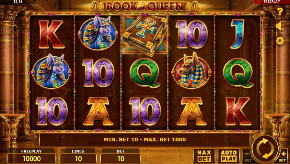 Book of Queen - Slot