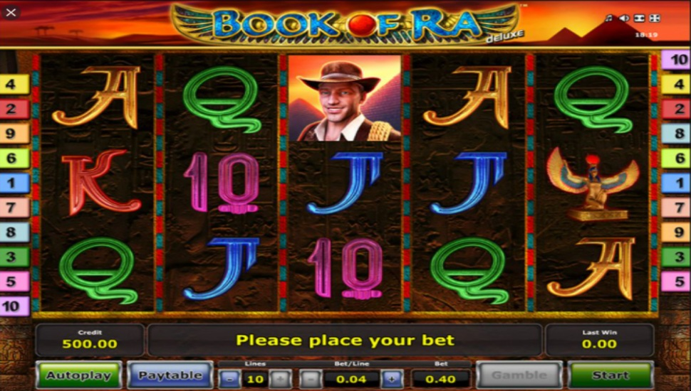 Book of Ra Deluxe - Slot