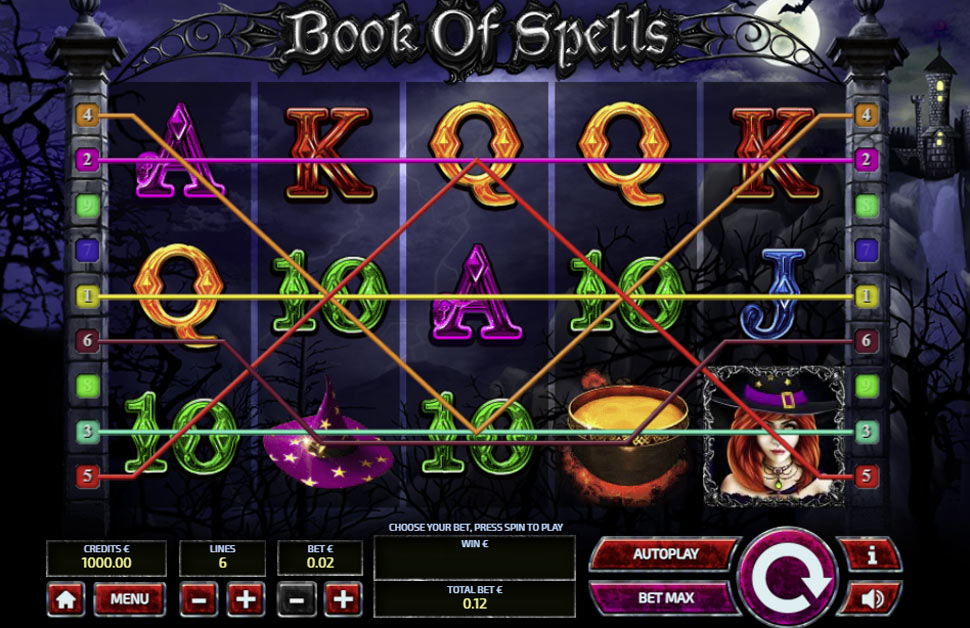 Book of Spells - slot