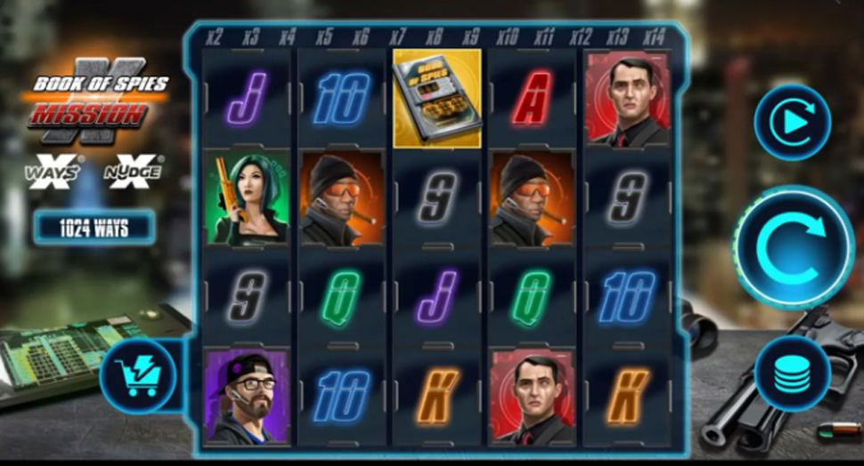 Book of Spies Mission X - Slot