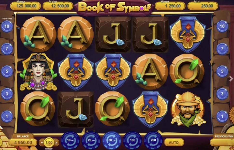 Book of Symbols - slot
