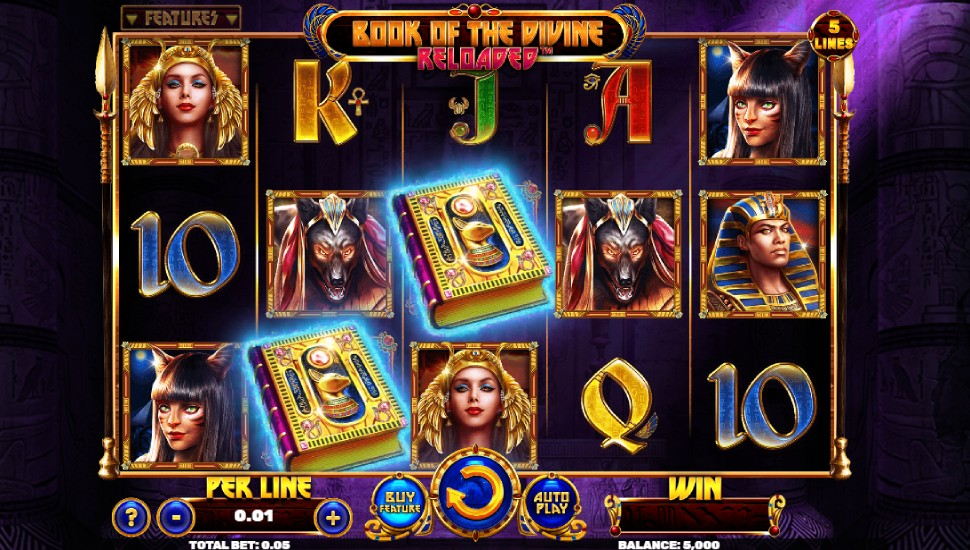 Book Of The Divine Reloaded Slot by Spinomenal