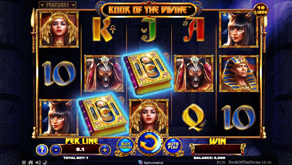Book Of The Divine - Slot