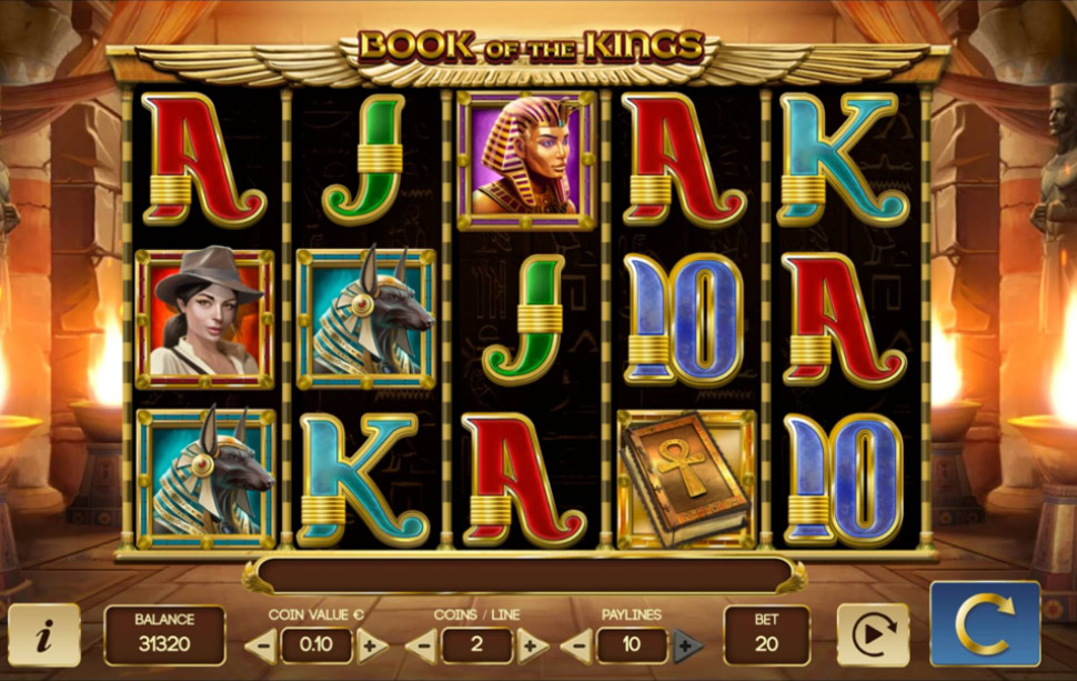 Book of the Kings - slot