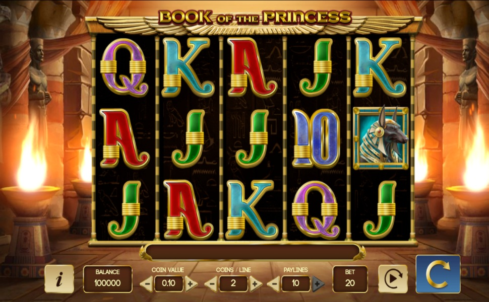 Book of the Princess - Slot