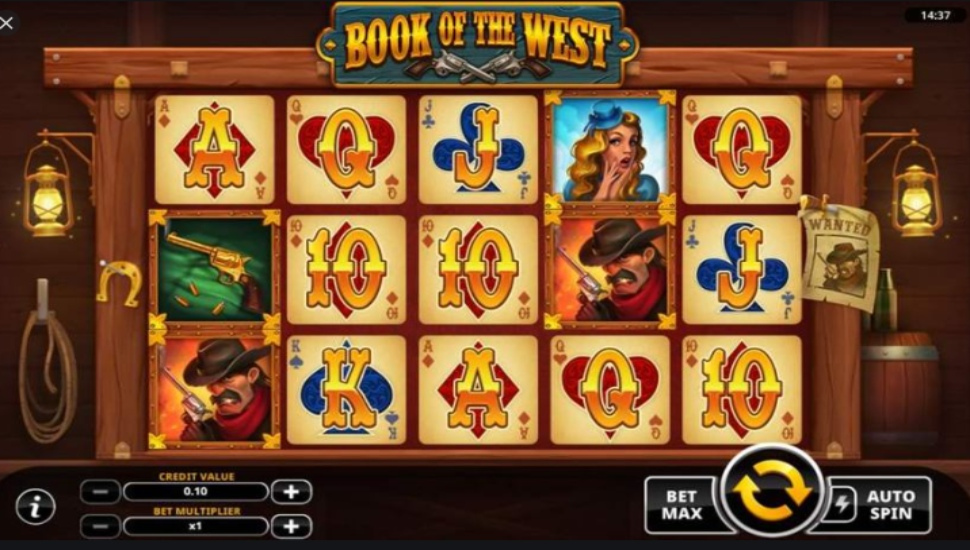 Book of the West - Slot