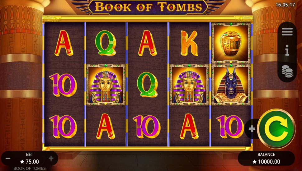 Book of Tombs - Slot