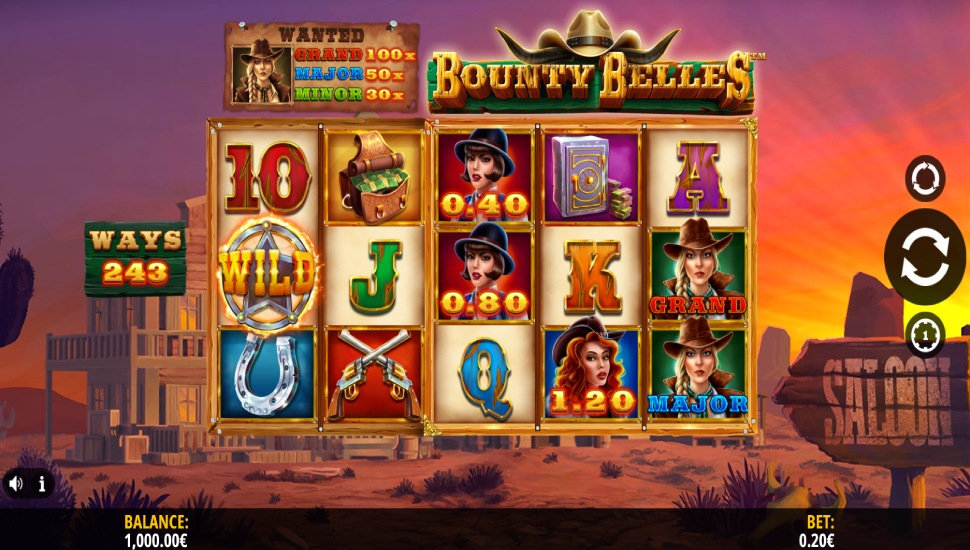 Bounty Belles - Slot
