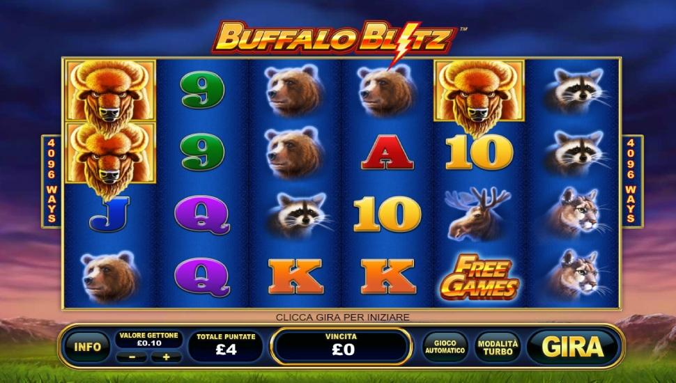 Buffalo Blitz  - Slot
