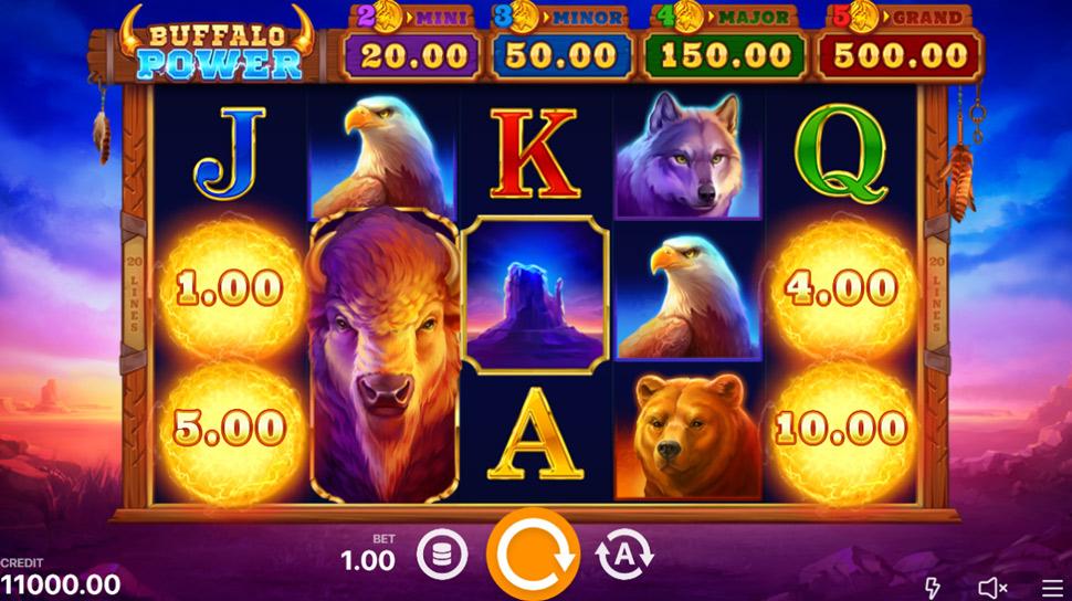 Buffalo Power: Hold and Win - Slot