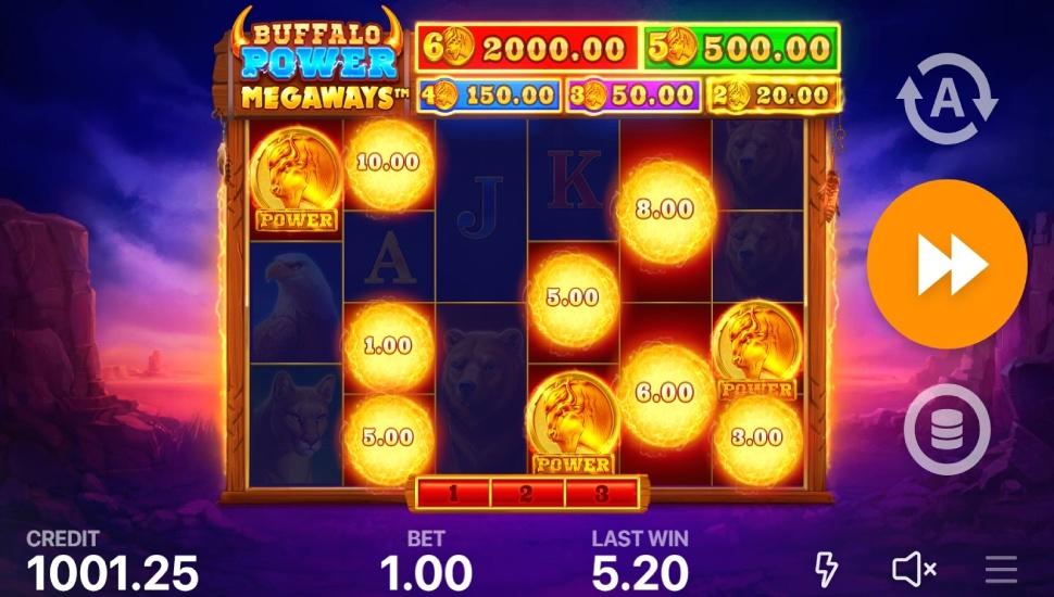 Buffalo Power Megaways - Bonus Features