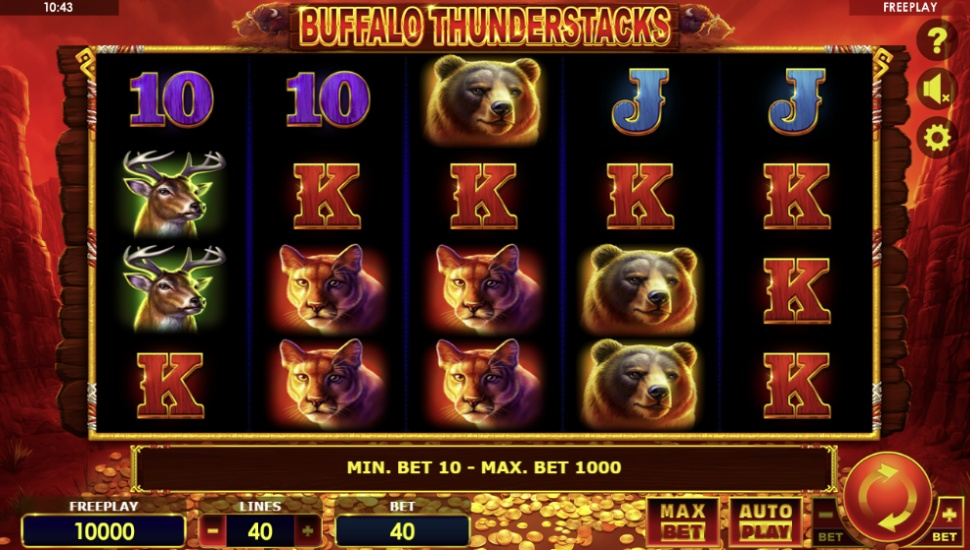Buffalo Thunderstacks - Slot