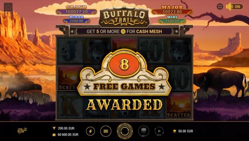 Buffalo Trail - Slot