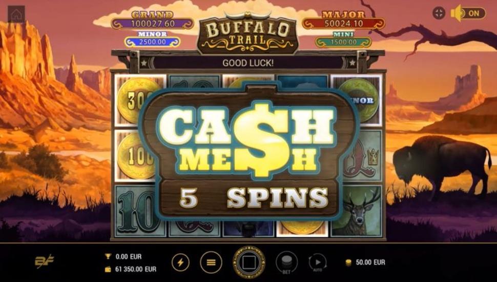 Buffalo Trail - Online Slot